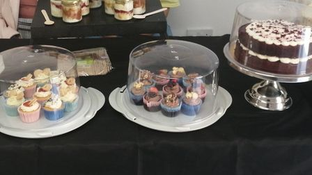 A selection of treats and cakes by Mariama. Picture: Mariama