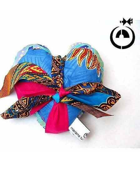 Two Hearts as One Gift set Limited edition in blue by trader Mariama. Picture: Mariama