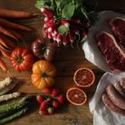 Le Marche des Chefs is delivering gourmet hampers to customers inside the M25 of prime ingredients u