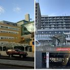 The Royal Free in Hampstead and the Whittington Hospital in Archway. Pictures: PA
