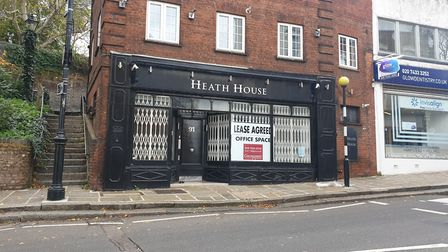 An empty shop at 91 Heath Street is set to become a frozen yoghurt delivery business. Picture: Harry Taylor