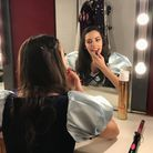 Elizabeth Bright as Snow White, getting ready for panto at Kenneth More Theatre. Picture: Olive Enokido-Lineham