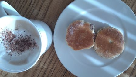 Afternoon tea recipes including welsh cakes home made scones lavender and raspberry jelly can cheer