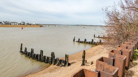 Bawdsey Quay and Felixstowe Ferry have had new flood warnings issued for them Picture: SIMON PAGE/ C