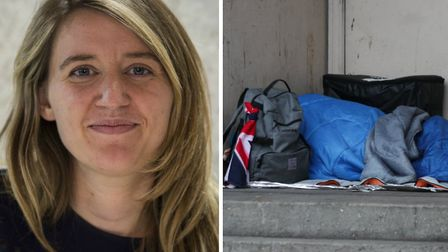 Cllr Georgia Gould warned that the government's funding for rough sleeping is not enough. Picture: PA