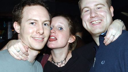 An evening out at The Bandbox, Felixstowe in 2004 Picture: LUCY TAYLOR/ARCHANT