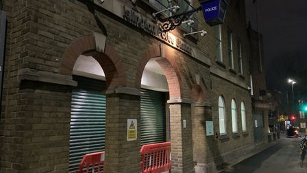 Islington Police Station in Tolpuddle Street. Picture: Met Police