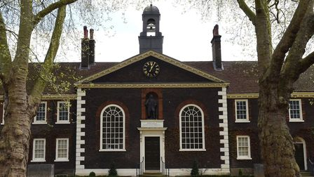 The statue of Sir Robert Geffrye at The Museum of the Home (formerly called The Geffrye Museum). Picture: Ken Mears