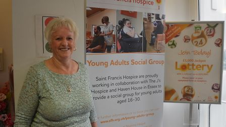 Angela Bridge is a ward volunteer at the hospice and is full of praise for the Hospice at Home team