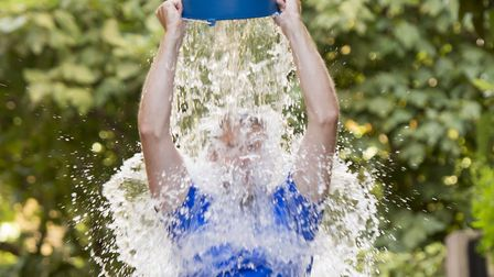 The charity is also holding an ice bucket challenge Picture: iSTOCKPHOTO/GETTY IMAGES