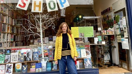Author Betsy Tobin at Ink@84 in Highbury. Picture: Ink@84