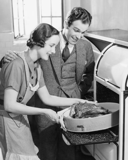 An old-style roast dinner. Picture: George Marks/ Getty Images