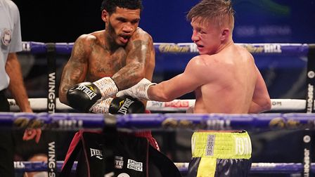 Conor Benn defended his WBA Continental Welterweight Title against former IBO World Champion Sebast