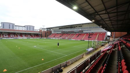 General view of the ground during Leyton Orient vs Harrogate Town, Sky Bet EFL League 2 Football at
