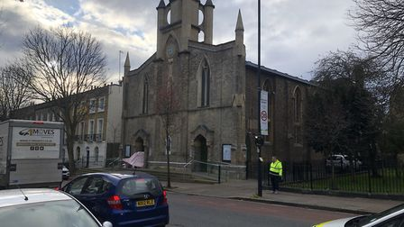 St Stephen's Church in Canonbury, where The Manna is based. Picture: Vicky Jessop