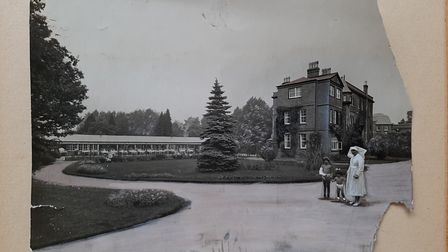 View of the hospital in the 1920s Courtesy of the RNOH