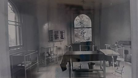 The old operating theatre from a found negative Courtesy of the RNOH