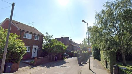 The alley leading off the Causeway in East Finchley. Picture: Google