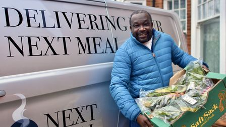 Gladstone Small. Picture: Jade Trott/Muswell Hill Soup Kitchen