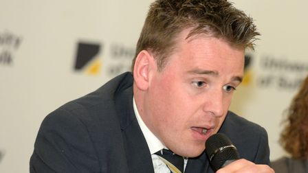 Ipswich MP Tom Hunt hopes there will be more support for the hospitality sector if Suffolk ends up in Tier 2. Picture...