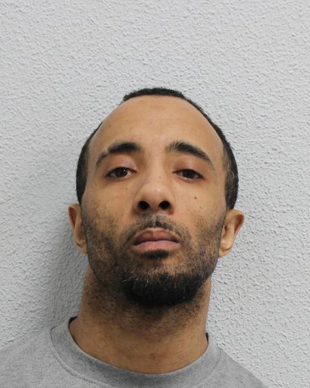 James Rochester, of Bow, was found guilty of murdering Lennox Alcendor. Picture: Met Police