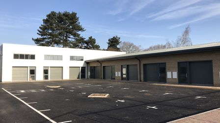 Beamish Hub at Ransomes Europark is now complete Picture: SIMPLE SERVICED INDUSTRIAL LTD