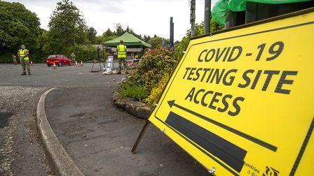 The percentage of Covid tests which have come out positive has risen in Havering every week since September - even in...