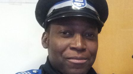 PCSO Wupundu Simpungwe used his knowledge of the area to help catch a suspected thief.