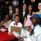 Acland Burghley School held a Bugsy Malone-themed prom for GCSE students. (Back row, from left) Tony Lysandrides, Faye Perkin...