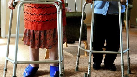 Angels Home Care was issued with a formal warning for failing to improve issues with its records system. Picture: PA/John...