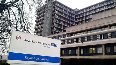 A review in to infeciton control has taken place at the Royal Free Hospital after a rise in C-diff cases was recorded