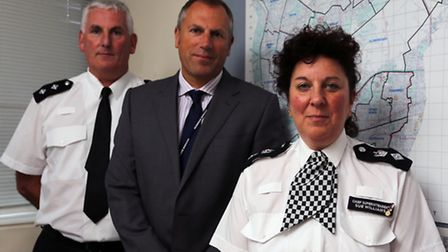 Redbridge's Police Borough commander Sue Williams, DCI Stewart Hill and Jack Rainey talked to the Ilford Recorder today...