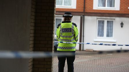 Two woman arrested after a man was killed in Goodmayes. The police cordon remains in place.