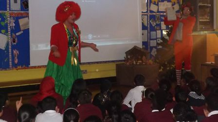 The Bake House came to speak to children at Uphall Primary School