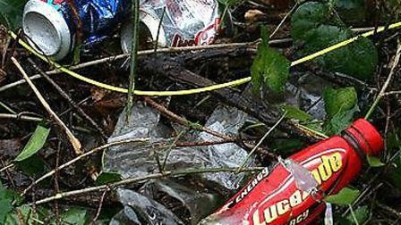 An Ilford man has been fined more than £500 for dropping a platic bottle