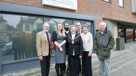 Official opening of new community centre in Goodmayes.