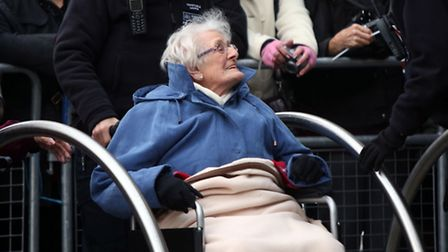 The Queen and The Duchess of Cornwall visited Barnardo's in Barkingside today. An elderly lady who was helped to the...