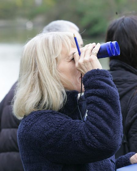 South park users group at the bird watching event