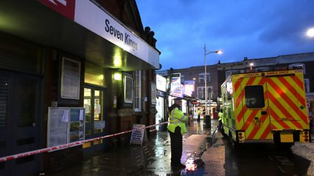 Anita Kaur Swali, 24, was pronounced dead at the scene [picture: Ellie Hoskins]