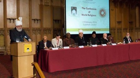 Conference of World Religions at Guidhall in London