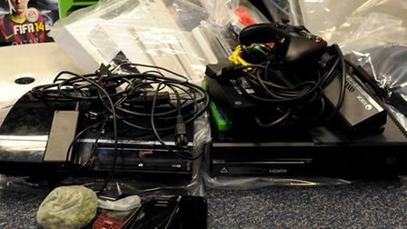 "The ""Aladdin's cave"" of suspected stolen electrical goods"
