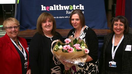 Glynis Donovan, Cathy Turland, Lorraine Silver and Athena Daniels from Healthwatch Redbridge