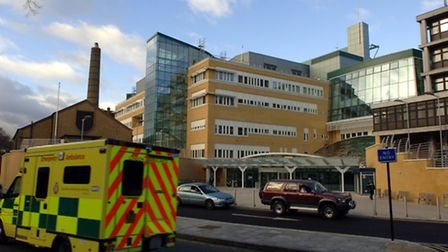 The Whittington Hospital in North London (Picture: Steve Parsons)