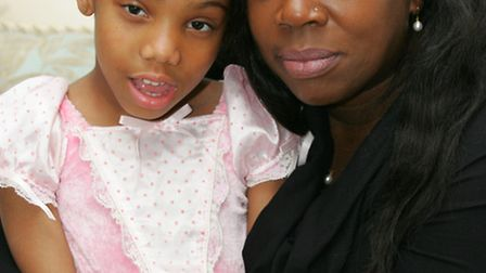 Wendy Small with her daughter Elizabeth