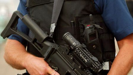 Firearms officers attended the attack. Picture: Press Association. Photo credit: Chris Ison