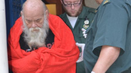 Ken Macleod was finally taken to hospital after the Ham&High dialled 999 for help this week