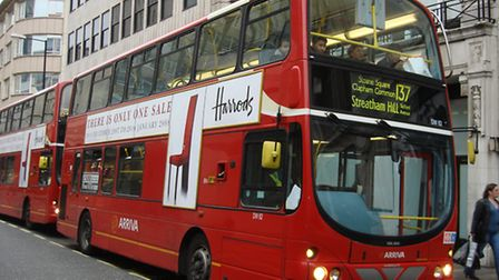Passengers will no longer be able to pay with money on London buses from July