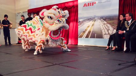 Royal Albert Dock developer ABP brought Chinese lion dancing to Kingsford Community School