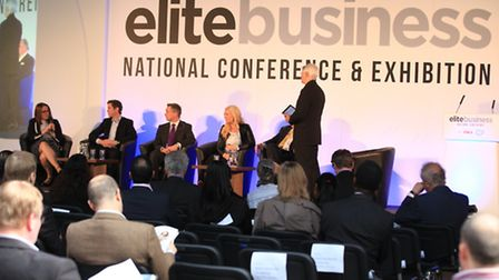 Elite Business National Conference at the Old Truman Brewery.