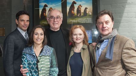 Premiere of Four Tails at Hampstead Everyman: On the red carpet were actor Matthew Bose, writer and producer Georgia Slow,...